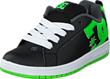 DC Shoes - Dc Kids Court Graffik Shoe Blk/Grs