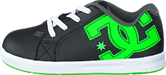 DC Shoes - Dc Court Graffik Elastic Black/Green/White