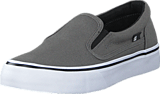 DC Shoes - Dc Kids Trase Slip-On Shoe Grey/Black/White