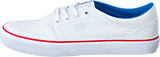 DC Shoes - Dc Trase Tx White/Blue/Red