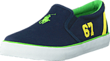 Ralph Lauren Junior - Vincent Jr Navy Canvas - Green