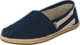 Toms - Women's Classic Stripe University Navy