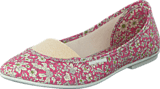 Hush Puppies - Stacy Elast.Ballerina Floralpink
