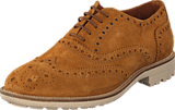 Hush Puppies - Carl Brogue Cognac