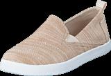 Toms - Avlon Slip-On Jr Natural Slubby Linen