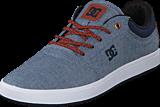 DC Shoes - Crisis TX Indigo Dark Worn