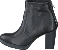 Bianco - Clean Platform Boot Black