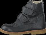 Angulus - TEX-boot w. velcro straps Black/Black