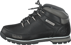Timberland - Euro Sprint Hiker Black Full-Grain