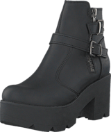 Johnny Bulls - 5074 Platform Boot Black Old Silver