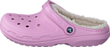 Crocs - Classic Lined Clog Ballerina Pink/Oatmeal