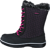 Bagheera - Snowy Waterproof Black/Cerise