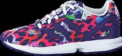 adidas Originals - Zx Flux C Collegiate Purple/Ftwr White