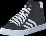 adidas Originals - Courtvantage Mid Black/White/Metallic Silver