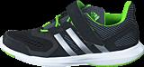 adidas Sport Performance - Hyperfast 2.0 El K Core Black/Silver/Solar Green
