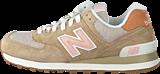 New Balance - WL574BCA NB-207 Brown/Orange