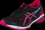 Asics - GT 1000 5 Black / Sport Pink /  Blue