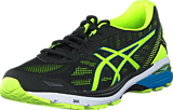 Asics - Gt-1000 5 Black / Safety Yellow / Blue
