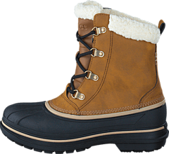 Crocs - Men's AllCast II Boot Wheat/Black