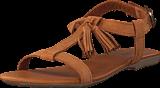 Bianco - T-Bar Sandal 24 Cognac