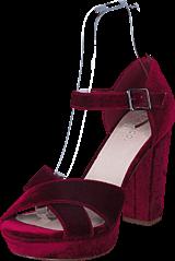 Bianco - Clean Basic Sandal JFM17 Wine Red