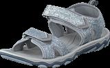 Hummel - Sandal Glitter JR Frost Gery