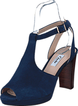 Clarks - Kendra Charm Navy Suede