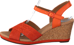 Clarks - Helio Latitude Orange Leather