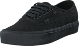 Vans - UA Authentic Lite (Canvas) Black/Black