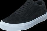 Vans - UA Old Skool Suede Black/Blanc de Blanc