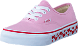 Vans - UY Authentic pink lady/red