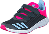 adidas Sport Performance - Fortarun Cf K Dark Grey/Easy Blue S17/Shock