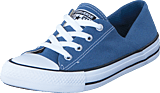 Converse - All Star Coral Ox Canvas Blue Coast