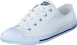 Converse - CTAS Dainty Perforated Ox White/ Black/ White