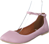 Bianco - Ankle Strap Ballerina Light Pink