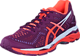 Asics - Gel Kayano 23 Dark Purple/Flash Coral/White