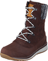 Salomon - Hime Mid Ltr Cswp Dark Brown/Bk/Gy