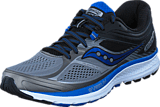 Saucony - GUIDE 10 Grey/Black/Blue