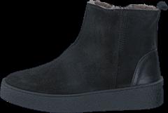Ten Points Kristina 260011 Black, Schuhe, Stiefel & Boots, Stiefel, Grau, Schwarz, Female, 36
