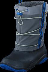Crocs - Swiftwater Waterproof Boot K Black/Blue Jean