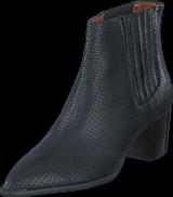 Twist & Tango - Lisabon low boots Black snake