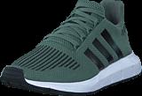 adidas Originals - Swift Run J Trace Green S17/Core Black/Ftw