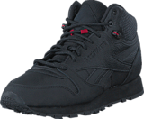 Reebok Classic - Cl Leather Mid Twd Black/Excellent Red/Blackstone