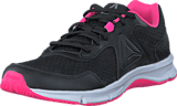 Reebok - Express Runner Black/Poison Pink/Pewter/White