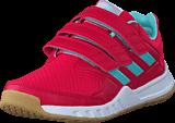 adidas Sport Performance - Fortagym Cf K Energy Pink F17/Energy Aqua F1