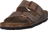 Birkenstock - Arizona Slim Soft Tabacco Brown