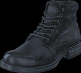 Jack & Jones - Justin Combo Leather Anthracite