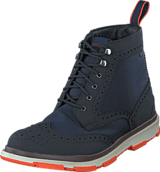 Swims - Storm Brogue High Waterproof Navy/Black/Orange