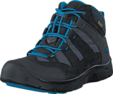 Keen - Hikeport Mid Wp Youth Black /Blue Jewel