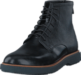 Clarks - Modur Hi Black Leather
